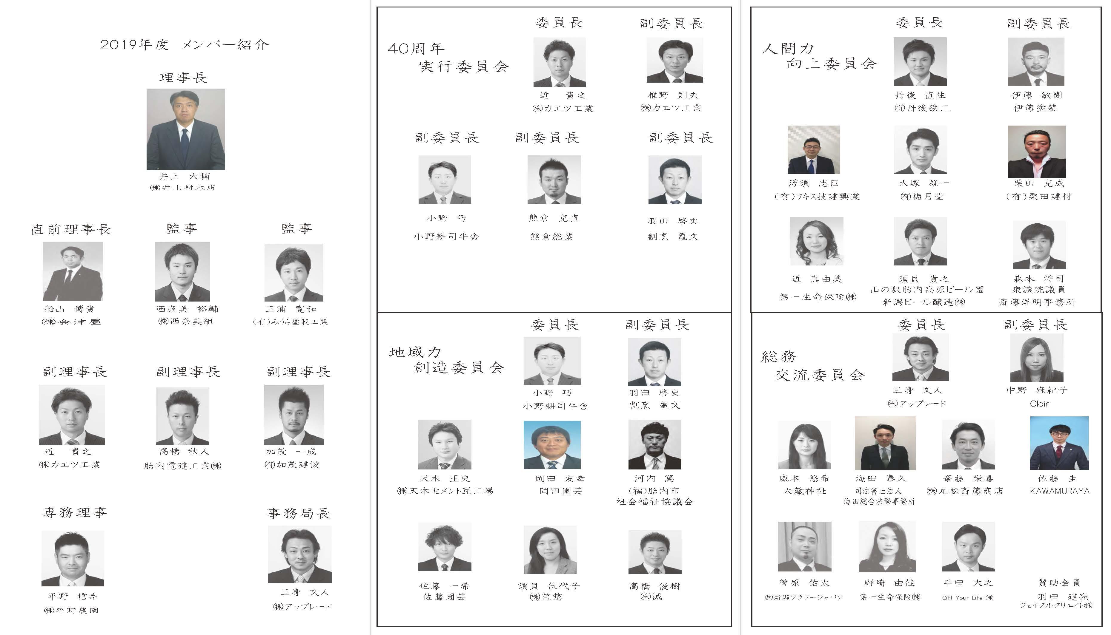 2019メンバー紹介表 縮小
