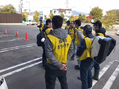 災害ボランティア 福島県本宮市へ